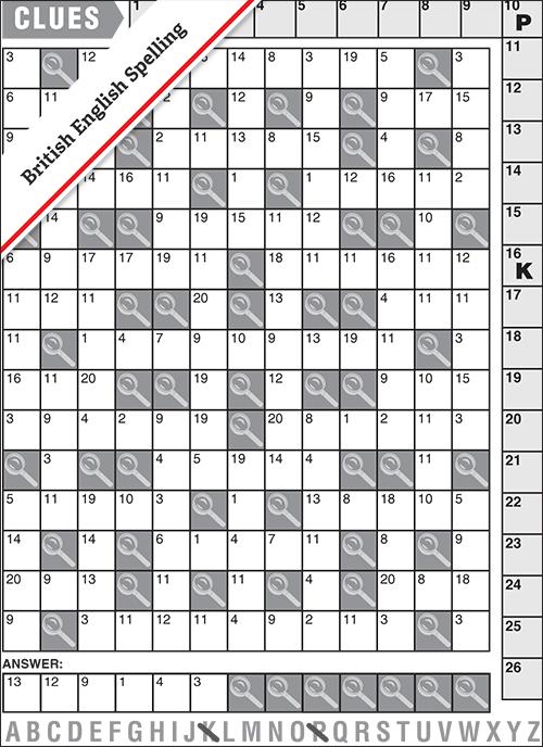 Code Cracker #0020<p>Solution: BRAINS</p>