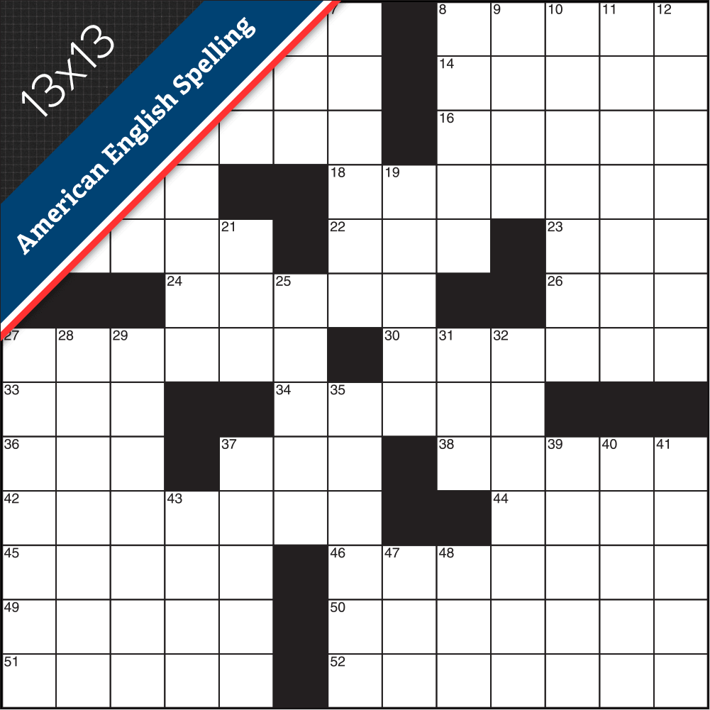 Crossword American Small