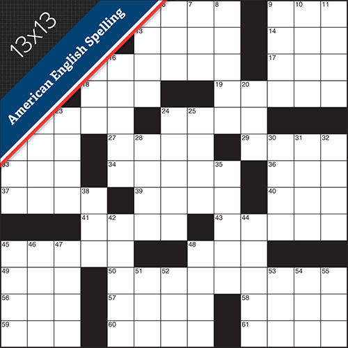 Crossword American Small #0001