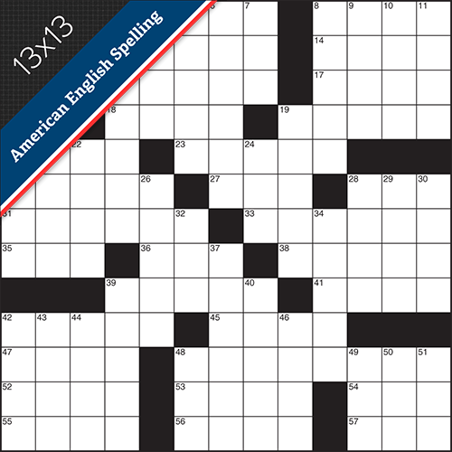 Crossword American Small #0005
