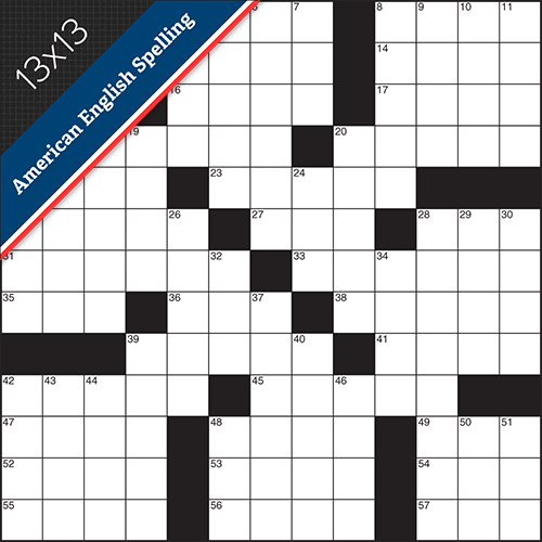 Crossword American Small #0012