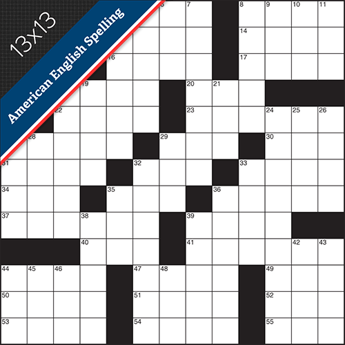 Crossword American Small #0018