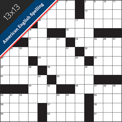 Crossword American Small #0019