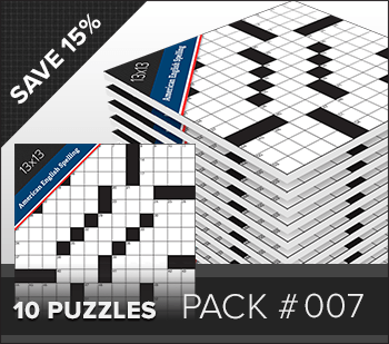 Crossword American Small Pack #007