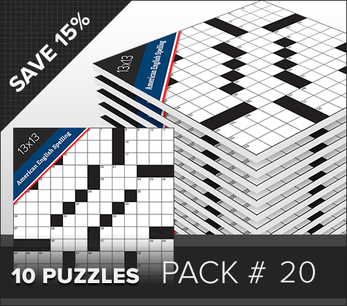 Crossword American Small Pack #020