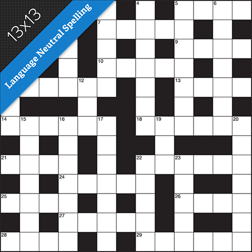 Crossword LN Small #0315