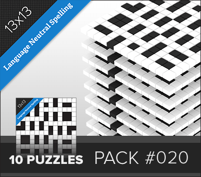 Crossword LN Small Pack #020