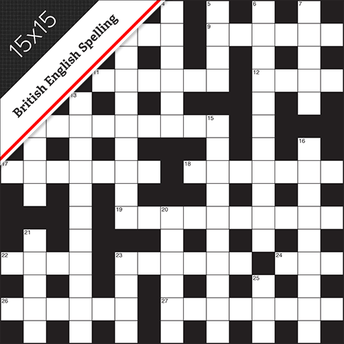 Cryptic Crossword Small #0019