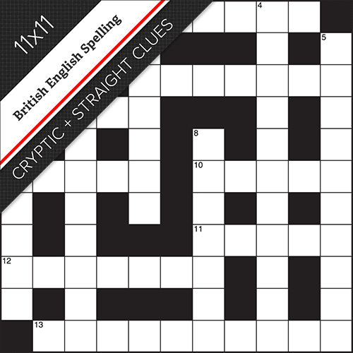 Cryptic Straight Crossword #0015