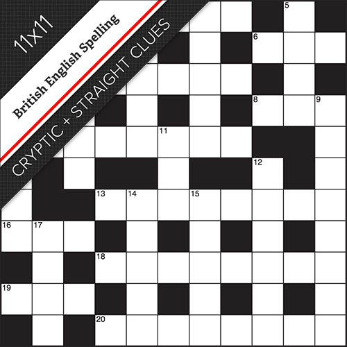 Cryptic Straight Crossword #0020