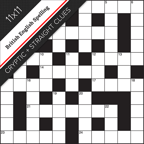 Cryptic Straight Crossword #0025