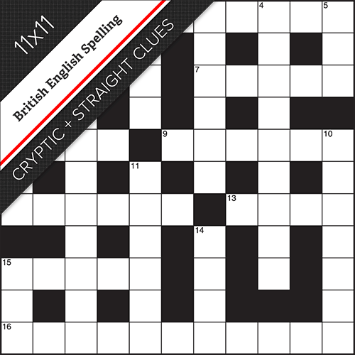 Cryptic Straight Crossword #0030