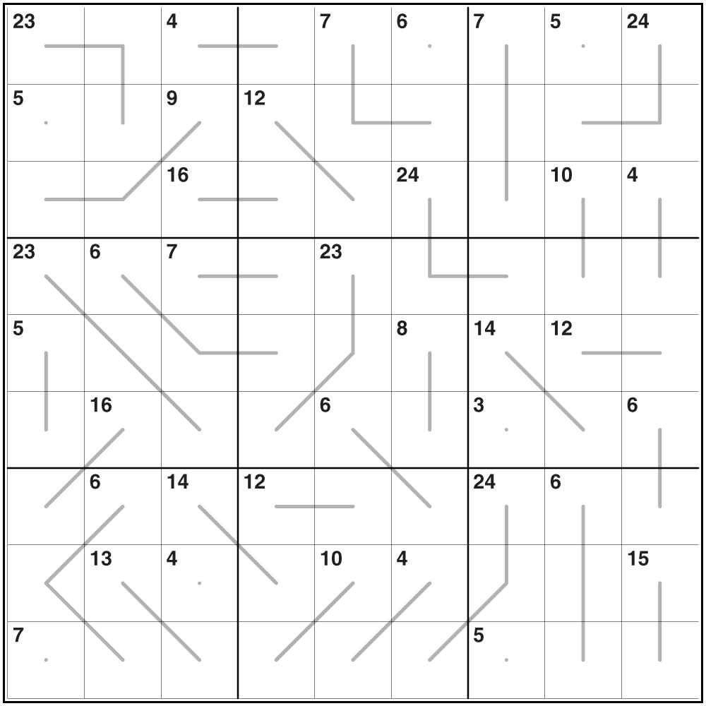 Killer Sudoku Standard