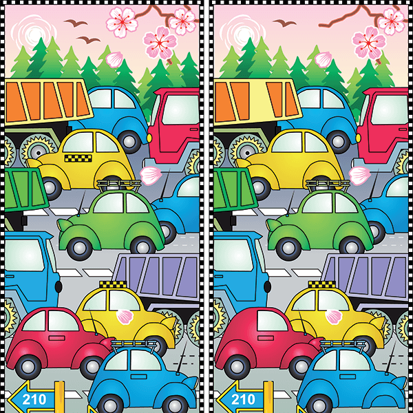 Spot the Difference #0022<p>Title: Cars</p>2