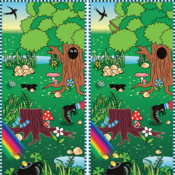 Spot the Difference #0024<p>Title: Forest</p>