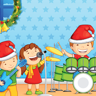 Spot the Difference #0049<p>Title: Kids Xmas Band</p>
