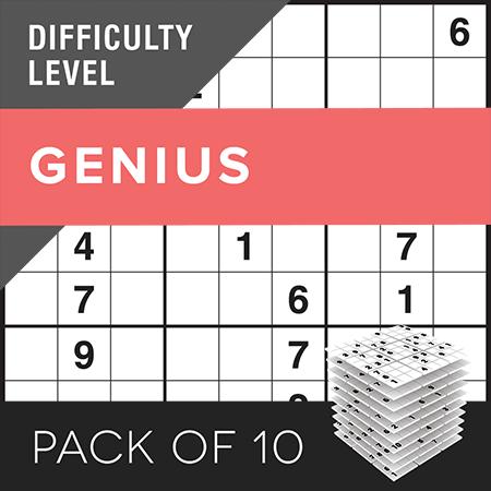 Sudoku (e)Genius Pack