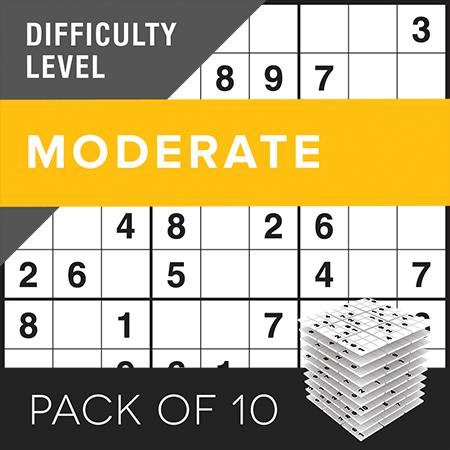 Sudoku (c)Moderate Pack