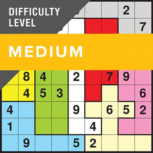Sudoku Shapeshifter Medium