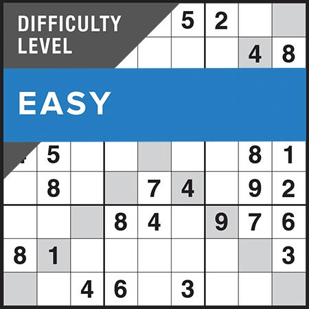 Sudoku X-Factor Easy
