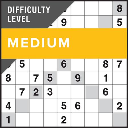 Sudoku X-Factor Medium