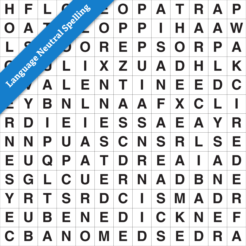 Wordsearch Standard